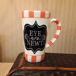 Eye of Newt Halloween Latte Mug